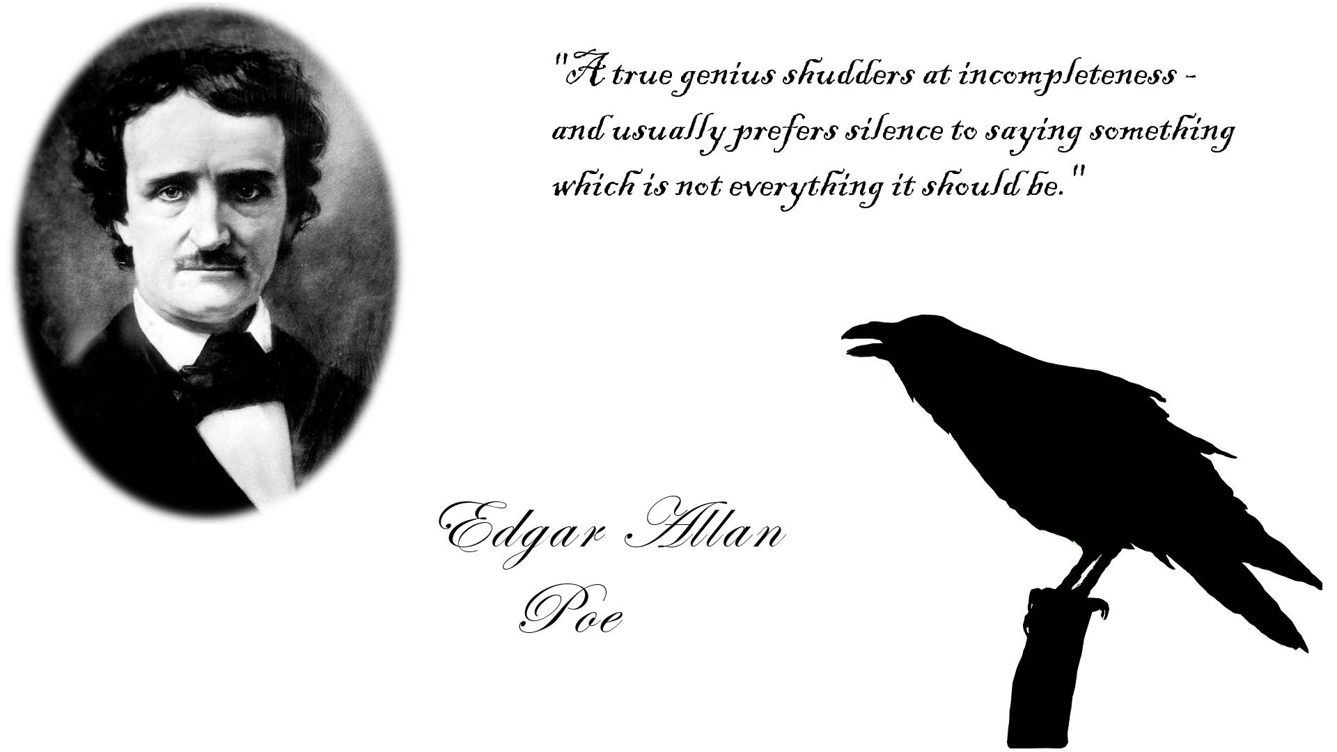 a brief lifes history of edgar allan poe Edgar allan poe pioneered a distinctly american brand of gothic horror and  romanticism, and introduced the short story to the literary tradition.