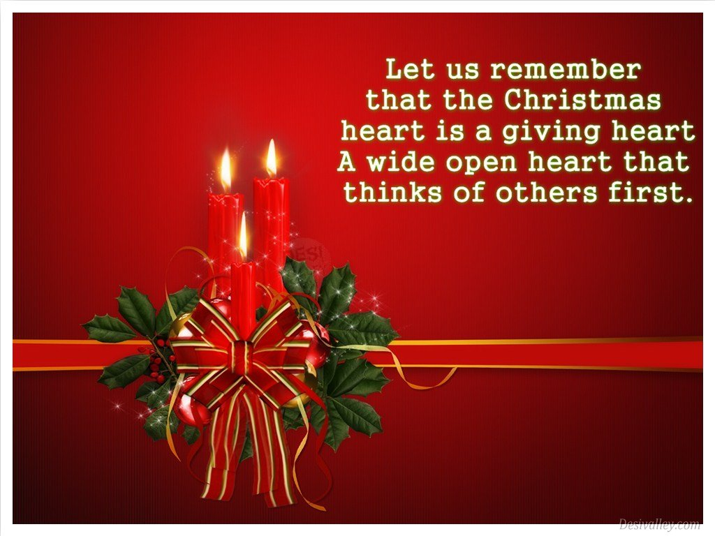 Christmas quotes with heart quotesgram
