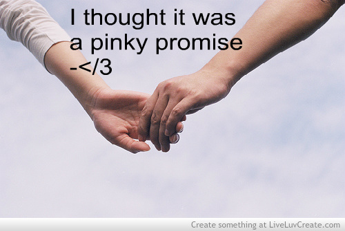Pinky Promise Quotes For Couple Quotesgram