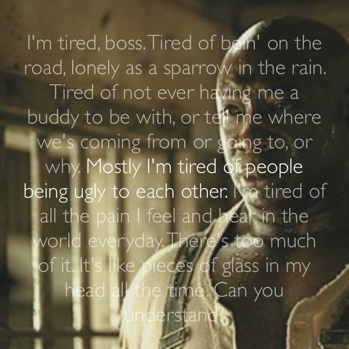 Green mile quotes the percy The Green