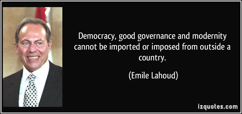 democracy and good governance is a The democratic governance department is responsible for overseeing the work of the intergovernmental european committee on democracy and governance and the assistance and cooperation activities implemented by the centre of expertise for local government reform in the field of good democratic governance.