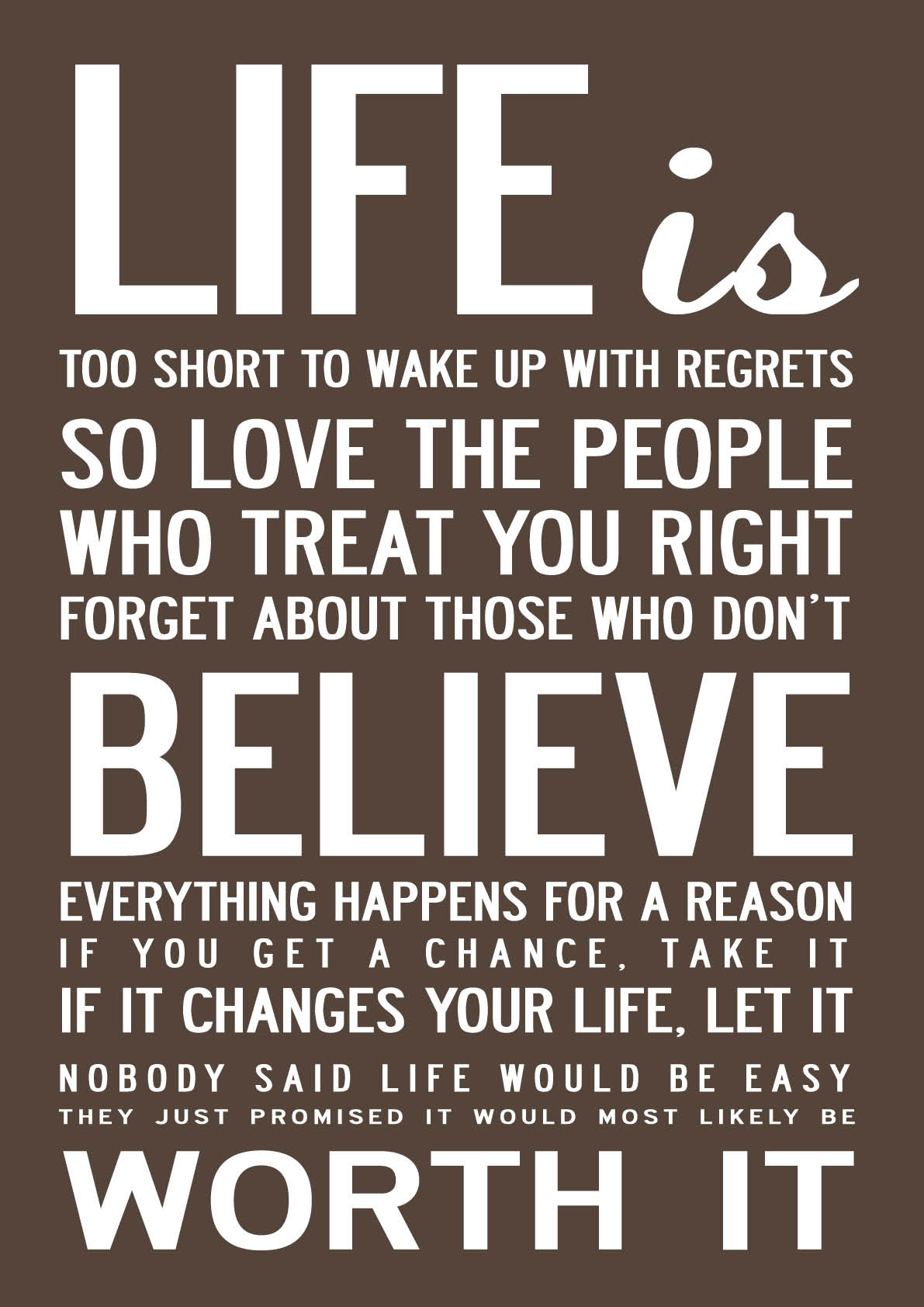 Daily Inspirational Quotes About Life Quotesgram