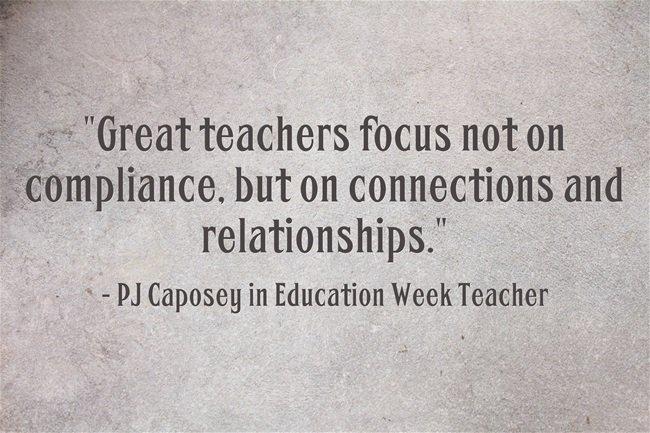 Quotes About Teachers And Students Relationships Parent Teacher Communi...