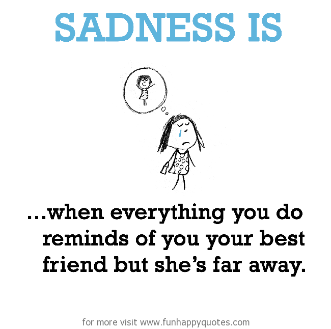 Sad I Miss You Quotes For Friends: Funny Quotes About Missing Friends. QuotesGram