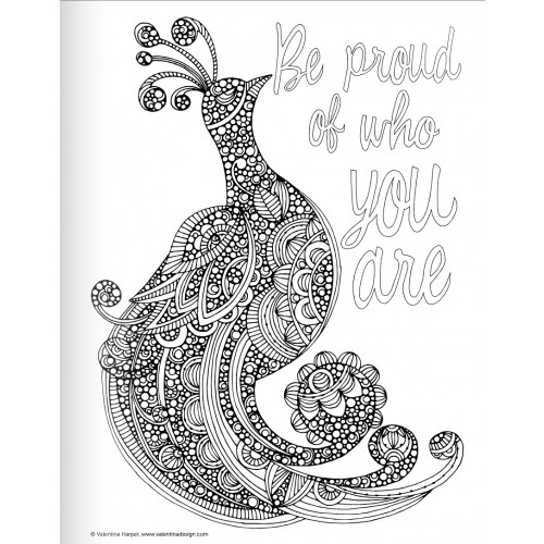 Printable Coloring Pages For Adults With Quotes : Inspirational quotes coloring pages. quotesgram