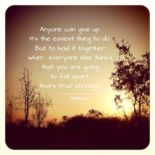 Developing Strength Motivational Quote: Inspirational Quotes About Hope And Strength. QuotesGram