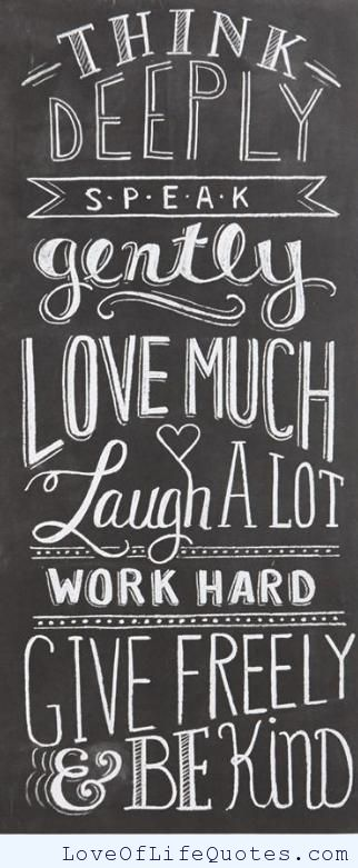 Chalkboard Quotes For Life Quotesgram