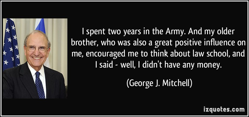 my brother who influenced my life My own loneliness was soon interrupted by my brother tom, who had also  ever  need to know about bravery that would anchor me the rest of my life  as  secretary of defense was influenced by my experiences in vietnam.