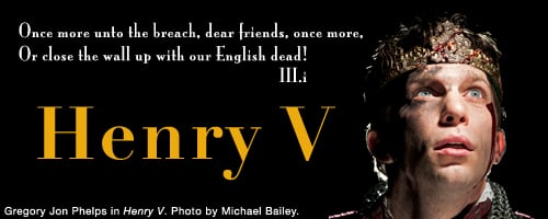 henry v and leadership 73 quotes from henry v: 'from this day to the ending of the world,but we in it shall be remembered-we few, we happy few, we band of brothersfor he to.
