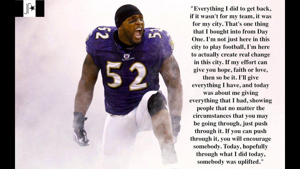 Ray Lewis Football Quotes. QuotesGram