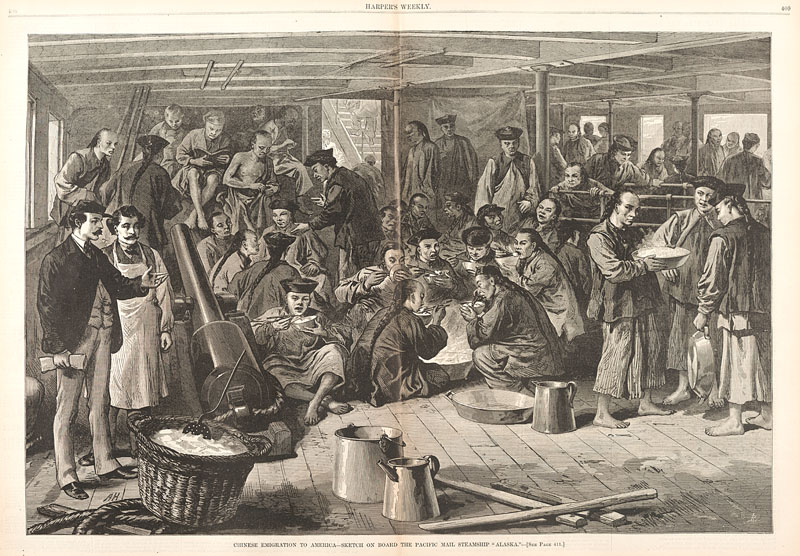an introduction to the immigration of the chinese people to the united states It's no secret that the us of a is a country of immigrants  the chinese people,  in response, backed off the mining and instead started settling down in big cities .