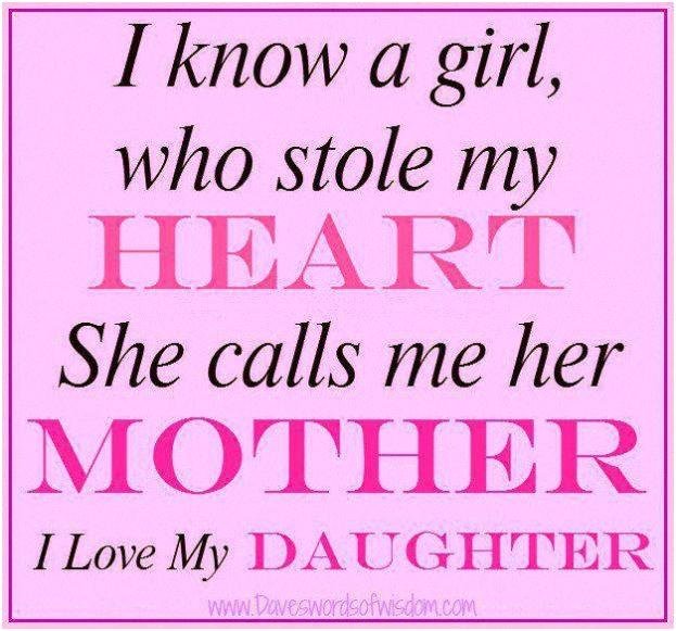 Love My Daughter Quotes. QuotesGram