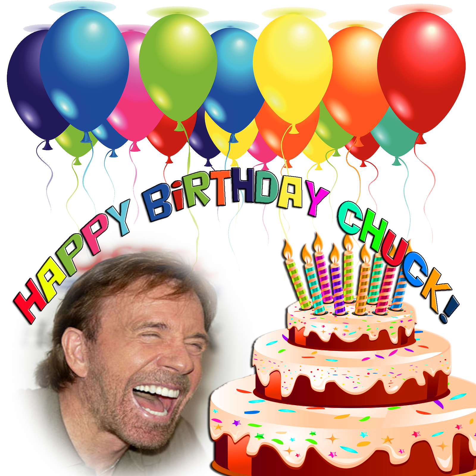 chuck norris birthday quotes. quotesgram, Birthday card