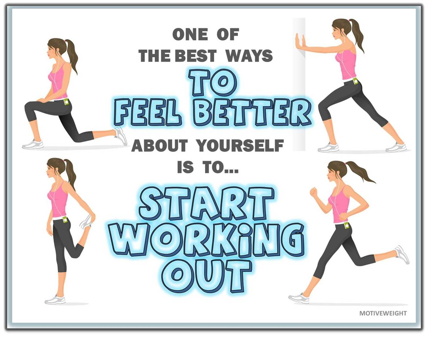 positive quotes about working out quotesgram
