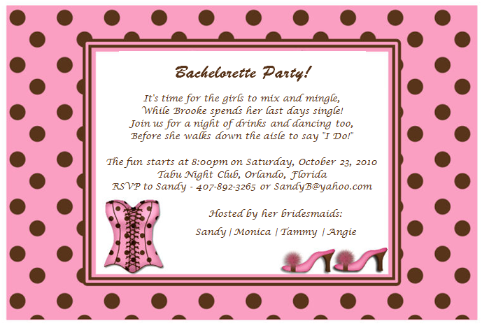 Quotes For Bachelorette Party Invitations. QuotesGram