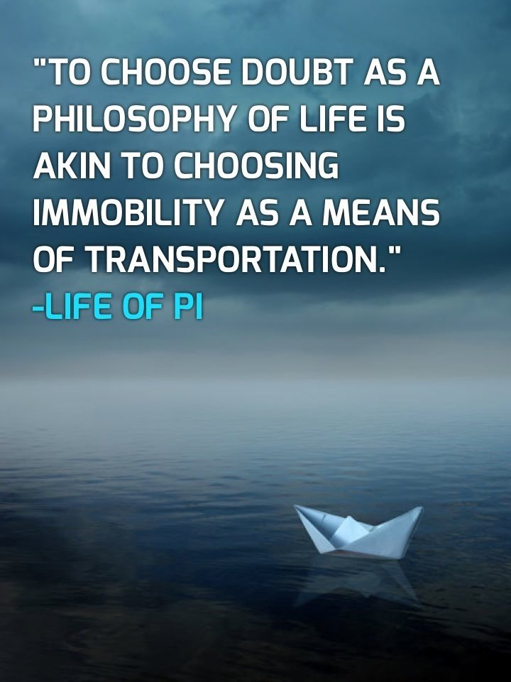 Life of pi movie quotes quotesgram for Life of pi chapter summary