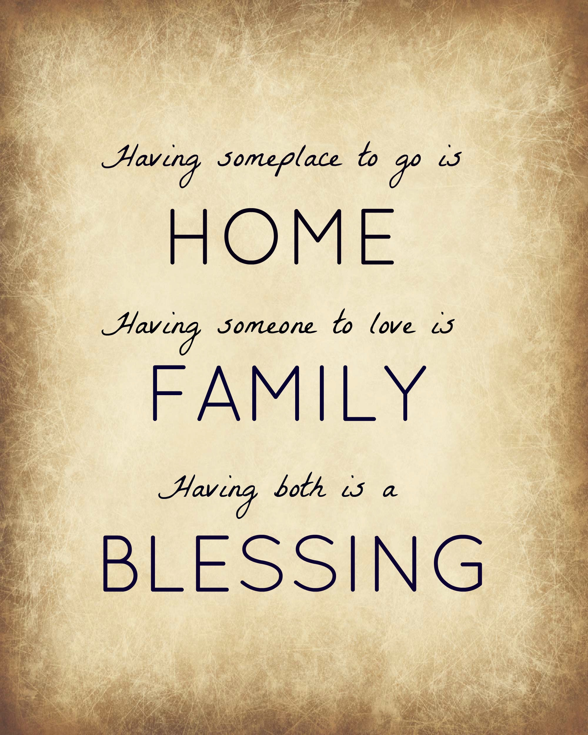 Blessings Quotes: Home Blessing Quotes. QuotesGram