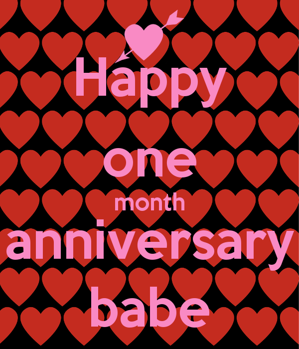 Funny One Month Anniversary Quotes: Happy One Month Quotes. QuotesGram