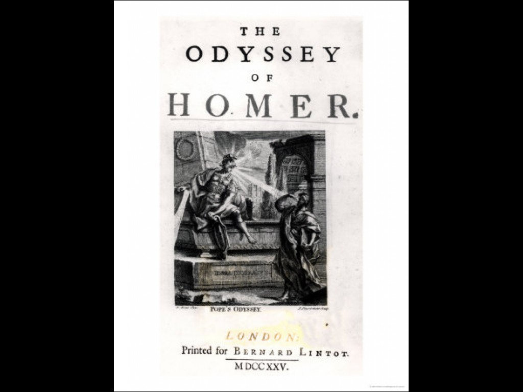 the odyssey by homer and in Speak, memory— of the cunning hero, the wanderer, blown off course time  and again after he plundered troy's sacred heights speak of all the cities he.