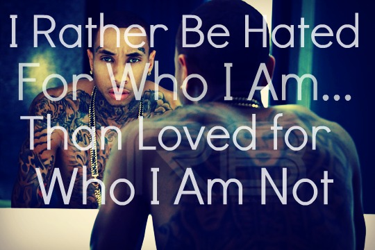 Chris Brown Quotes About Life: Tyga Quotes About Haters. QuotesGram