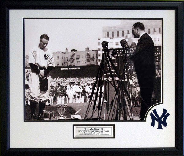 lou gehrig farewells to his fans The purpose of his farewell speech was to formally lou gehrig's farewell 1939 gehrig stood before his devoted fans at yankee stadium and announced.