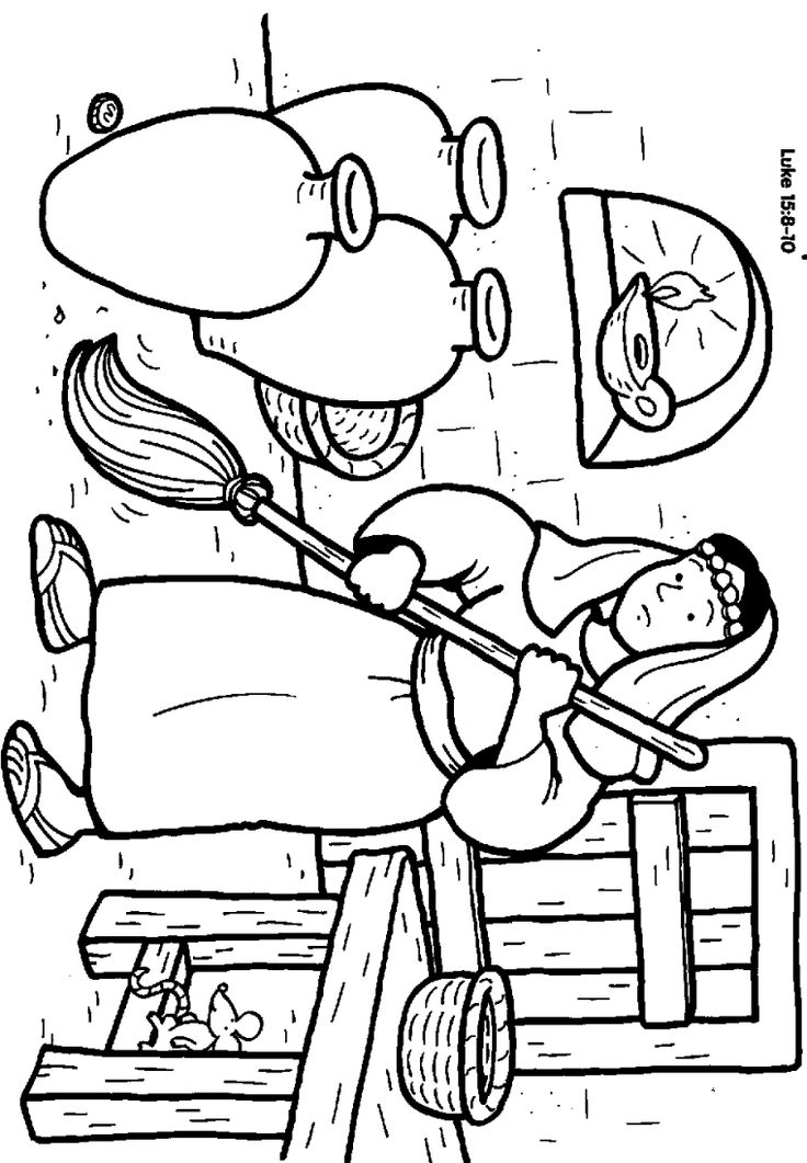 parables of jesus coloring pages | Lost Coins Quotes. QuotesGram