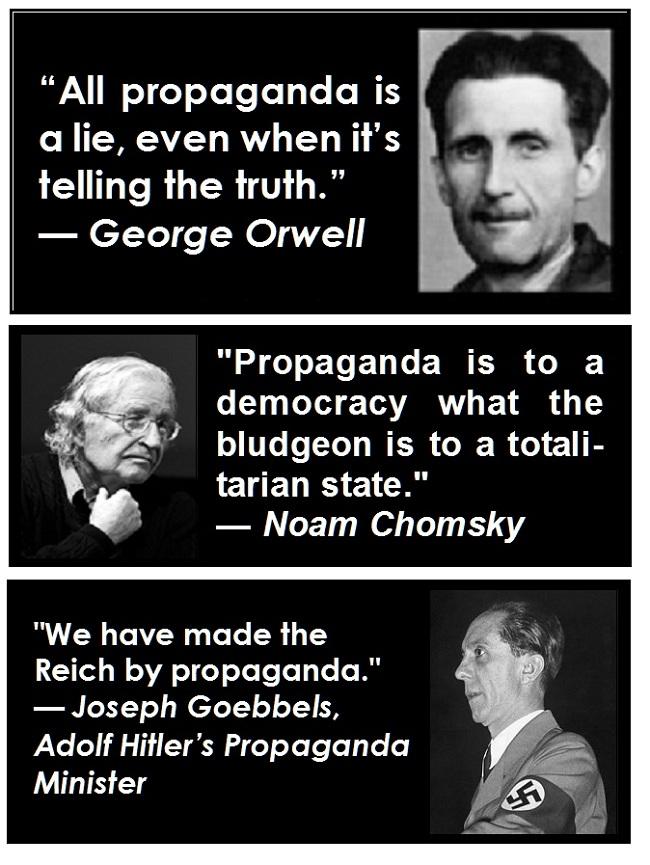 George Orwell Propaganda Quotes. QuotesGram