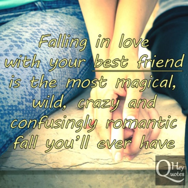 Falling In Love Picture Quotes: Friends Falling In Love Quotes. QuotesGram