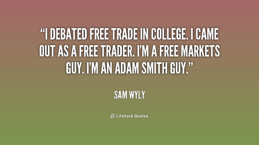 Free-Trade Quotes. QuotesGram