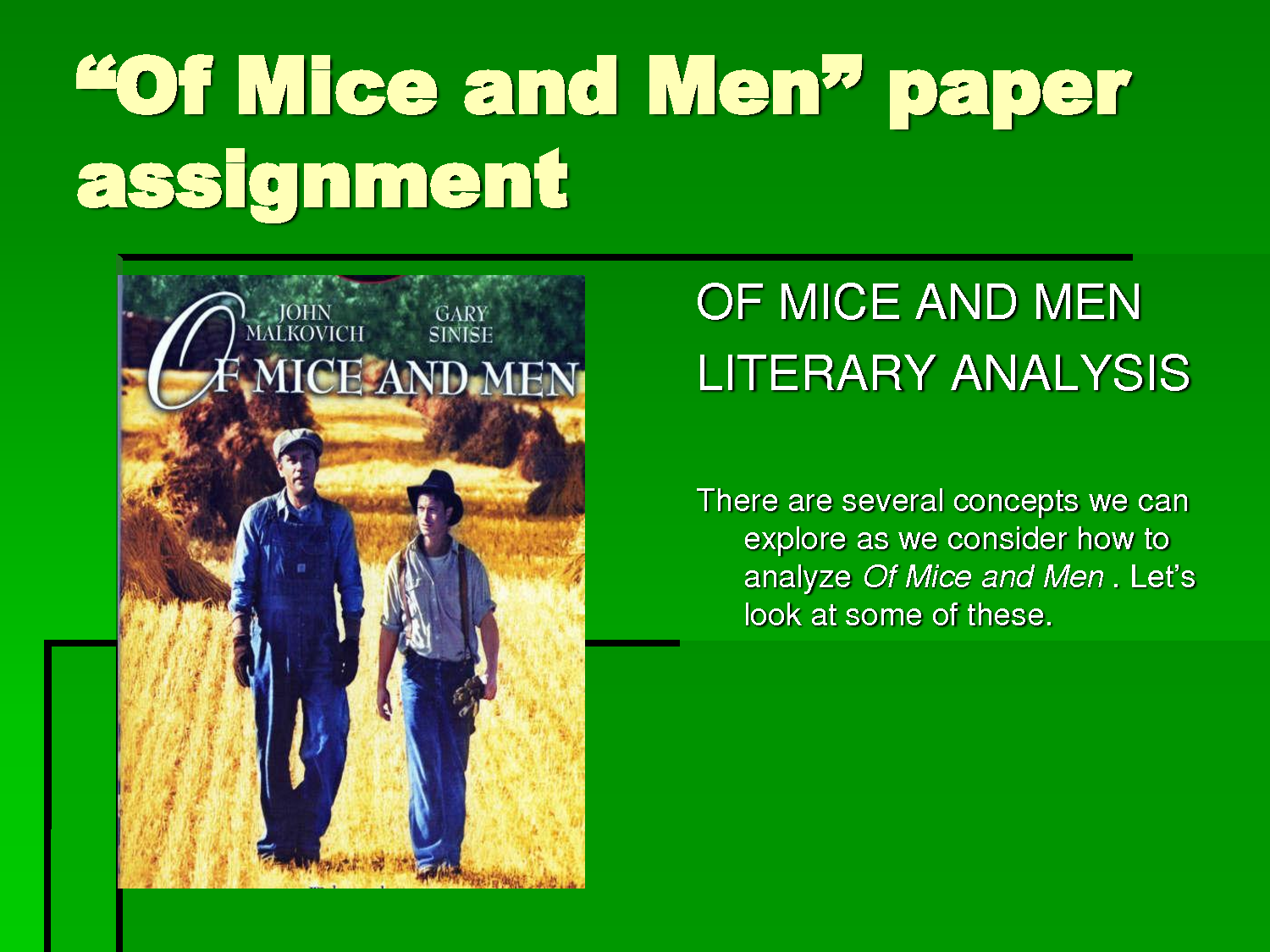 essay on of mice and men theme friendship Of mice and men: yearning friendship steinbeck illustrates the theme a report on architectural determinism anthropology essay.