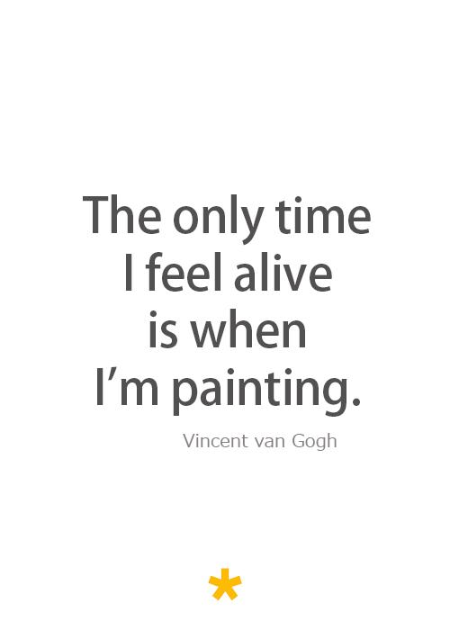van gogh famous art quotes  quotesgram