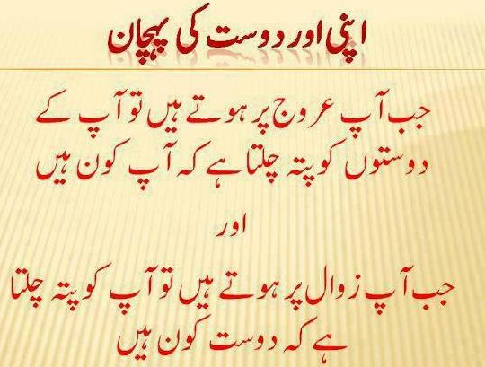 Friendship Quotes In Urdu. QuotesGram