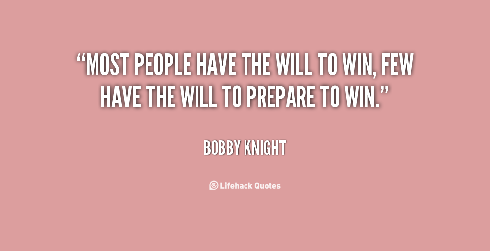 Will To Win Quotes. QuotesGram