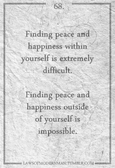 Happiness Is Found Within Quotes. QuotesGram
