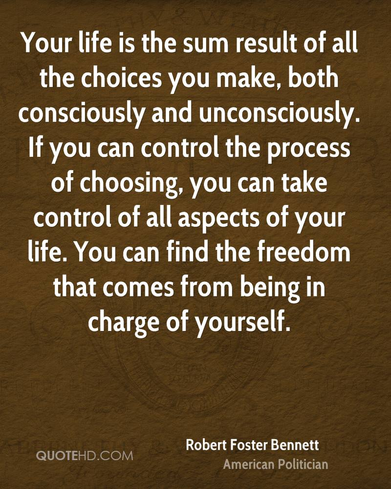Quote Of Life: Take Control Of Your Life Quotes. QuotesGram