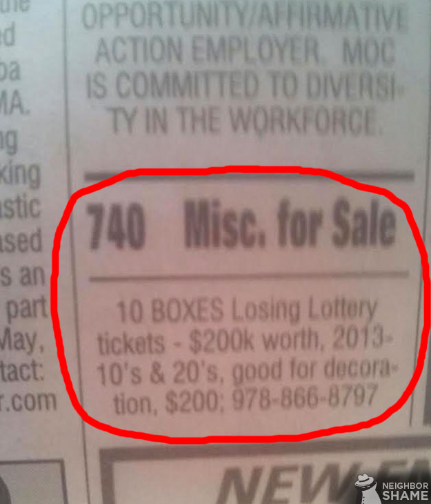 Lose Lotto