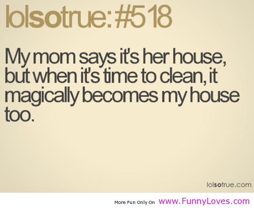 House Cleaning Funny Quotes. QuotesGram