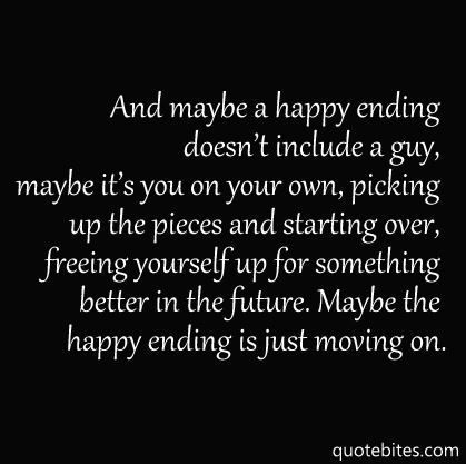 Being Happy Quotes About Moving On From A Guy And. QuotesGram