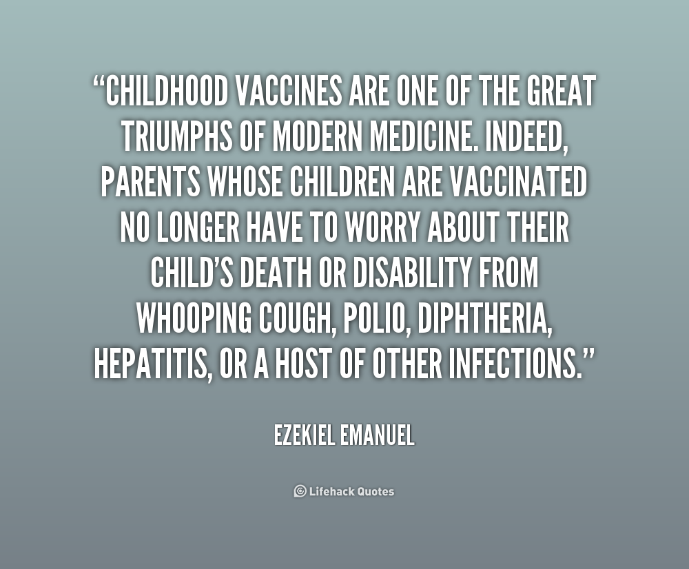quotes on childhood vaccinations quotesgram