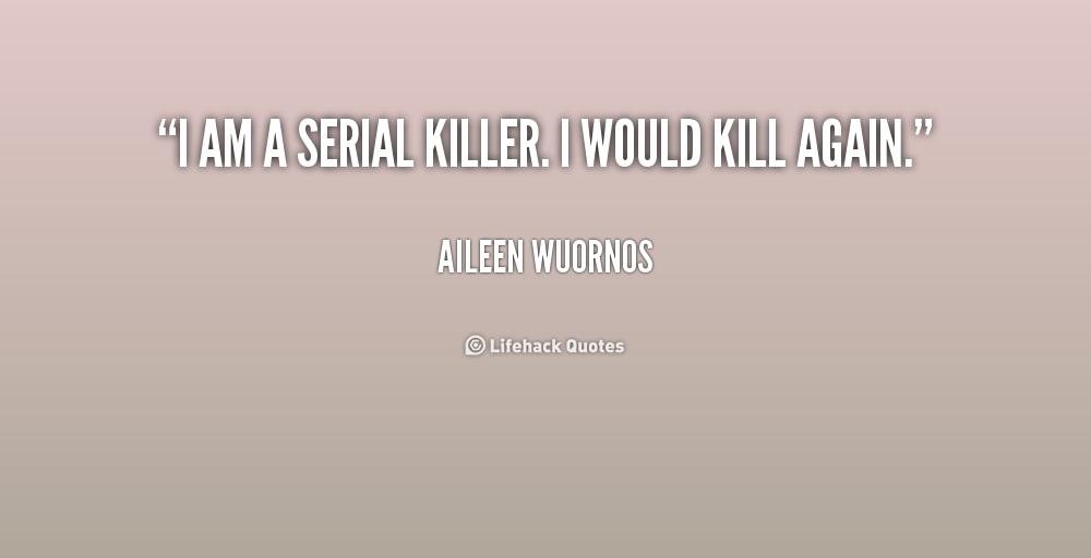 Serial Killers: Defining Serial Murder