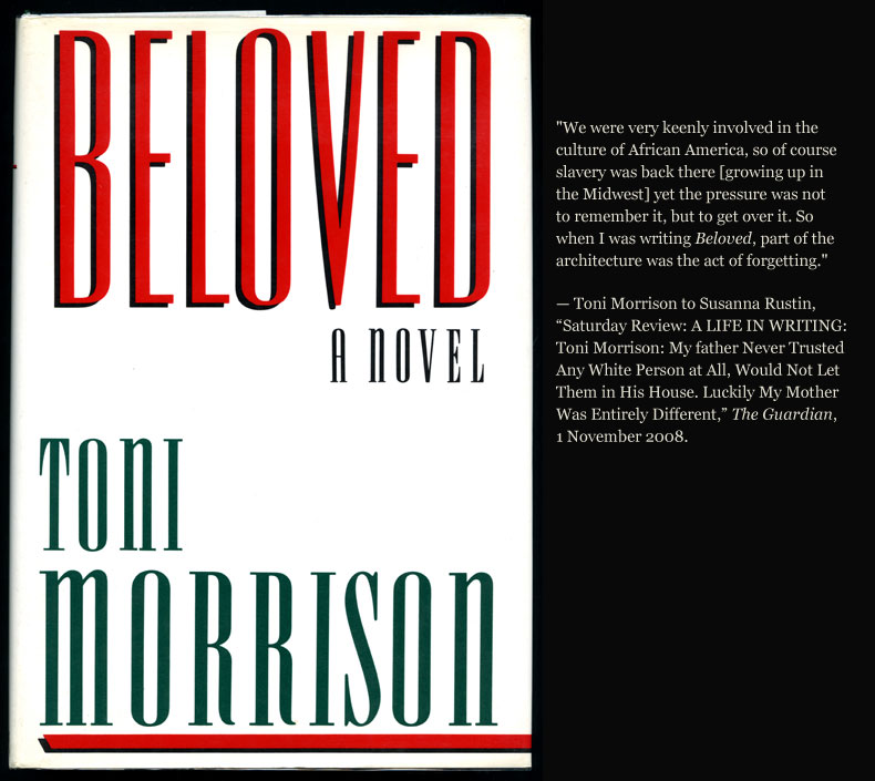 an analysis of tony morrisons novel beloved Beloved is a novel by toni morrison that was first published in 1987 summary  from the major themes and ideas to analysis of style, tone, point of view, and more.