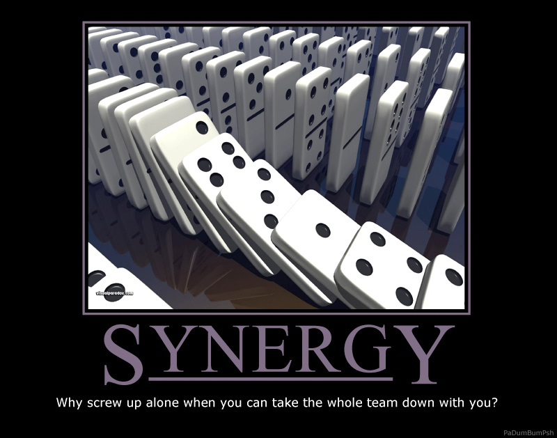 Using The Word Synergy Quotes Quotesgram