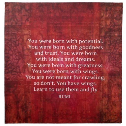 Inspirational Quotes About Positive: Rumi Spiritual Quotes. QuotesGram
