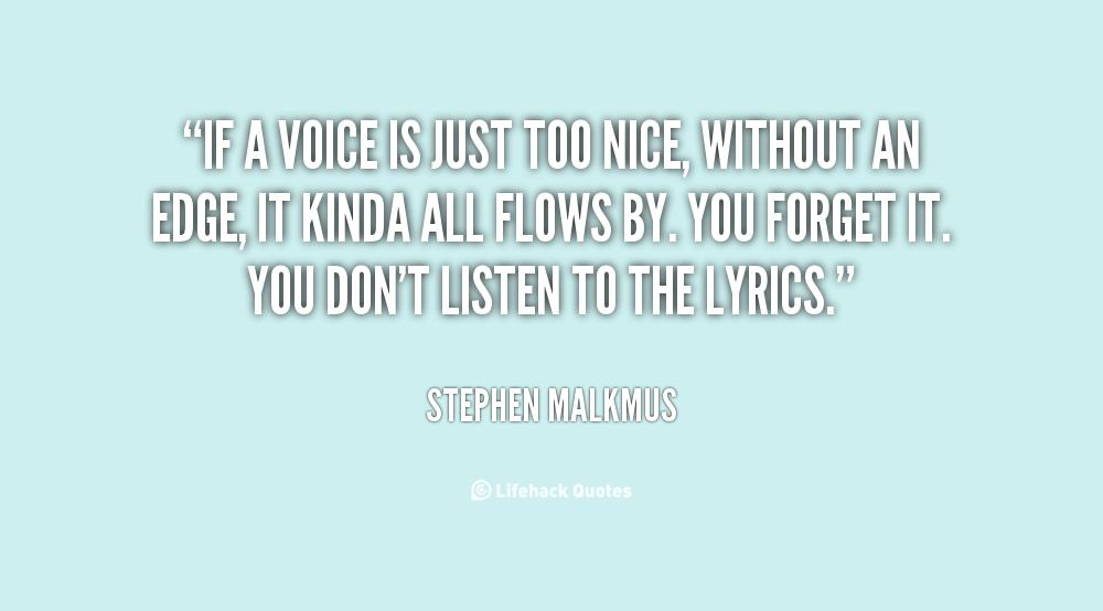 Too Nice Quotes. QuotesGram