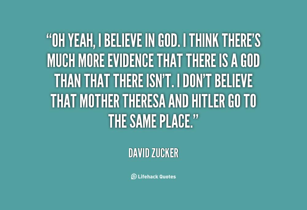I Believe In God Quotes. QuotesGram