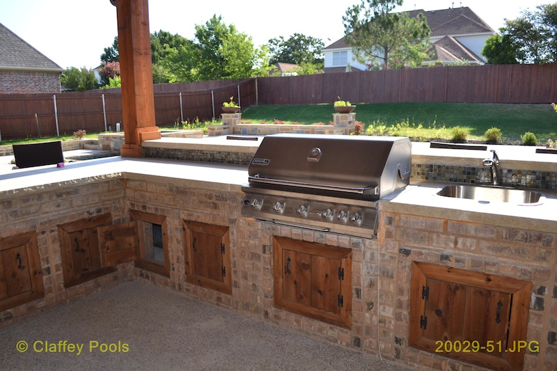 Quotes about outdoor kitchens quotesgram for Outdoor kitchen cabinets