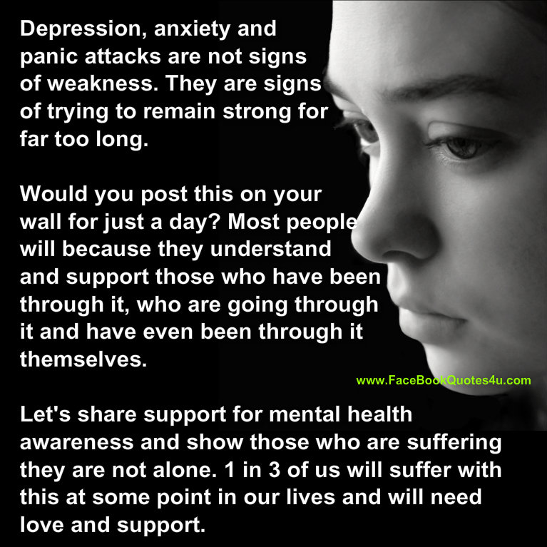 Mental Health Quotes: Quotes About Mental Health Awareness. QuotesGram