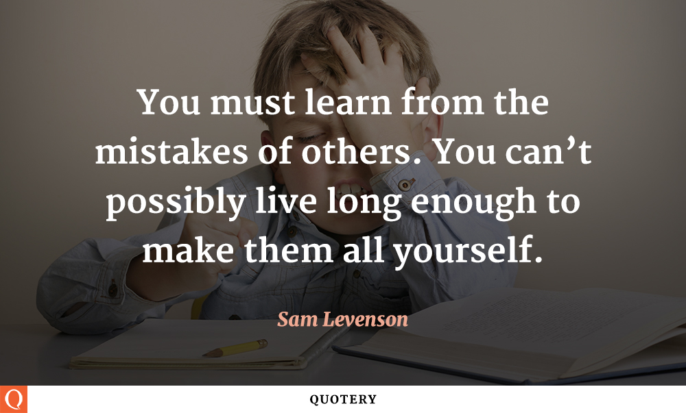 TOP 24 LEARNING FROM OTHERS QUOTES | A-Z Quotes