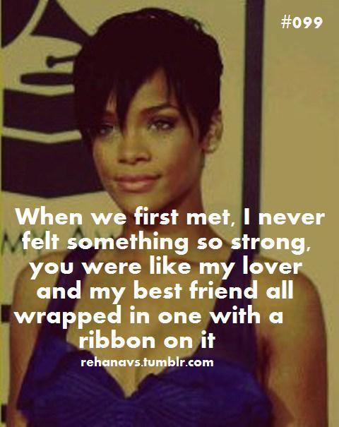 Rihanna Quotes About Love. QuotesGram