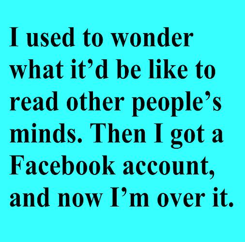 Funny Dirty Quotes For Facebook Status: Funny Quotes About Reading Minds. QuotesGram